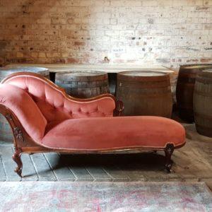 Antique Chaise Longue Wedding Prop Furniture Hire Scotland