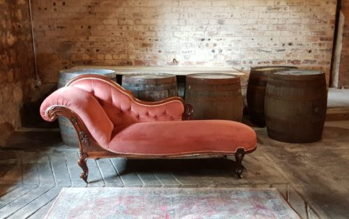 Antique Chaise Longue Wedding Prop Furniture Hire Scotland