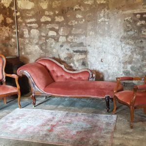 Chaise Longue Wedding Prop Furniture Hire Scotland