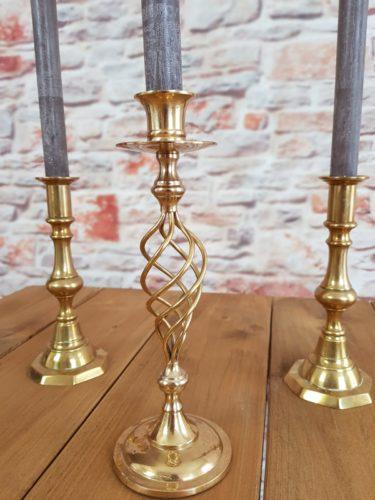 Copper Candlesticks £2.50 each
