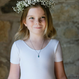 Scottish wedding flowers Fife Gypsophila flower crown