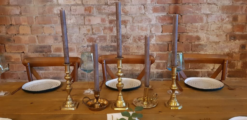 Selection of Brass Candlesticks