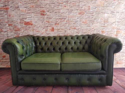 Two Seater Green Chesterfield £100