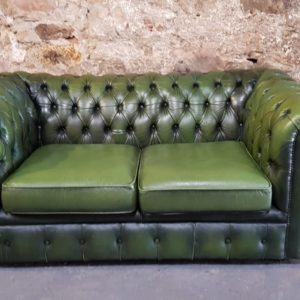 Hire Green Chesterfield Wedding Prop Furniture Hire Scotland