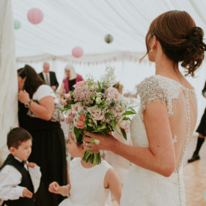 Summer wedding flowers Fife Scotland