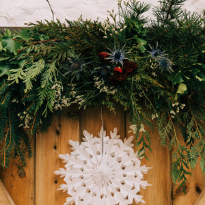 Winter Wedding Foliage Garland