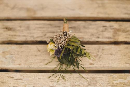 Groom buttonhole