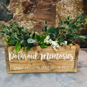 Foliage decoration wedding props