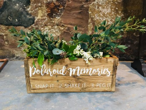 Foliage decoration wedding props