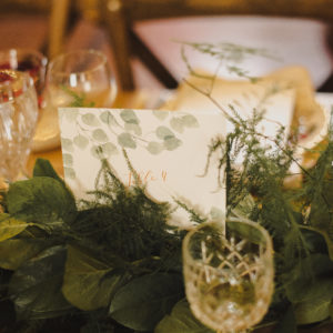 Table Greenery Foliage Garland Wedding Centrepiece