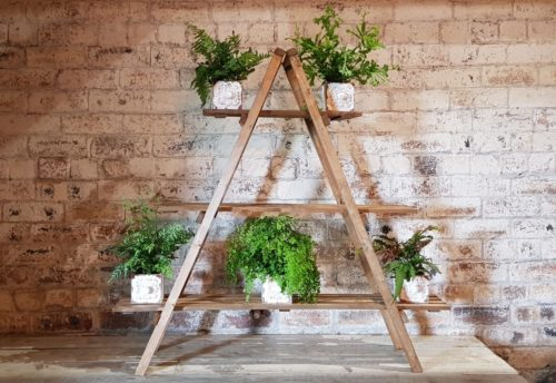 Ladder display wedding hire Scotland