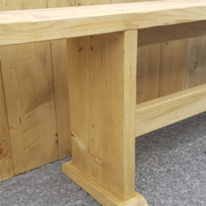 Rustic Wooden Bench seats 3 £15
