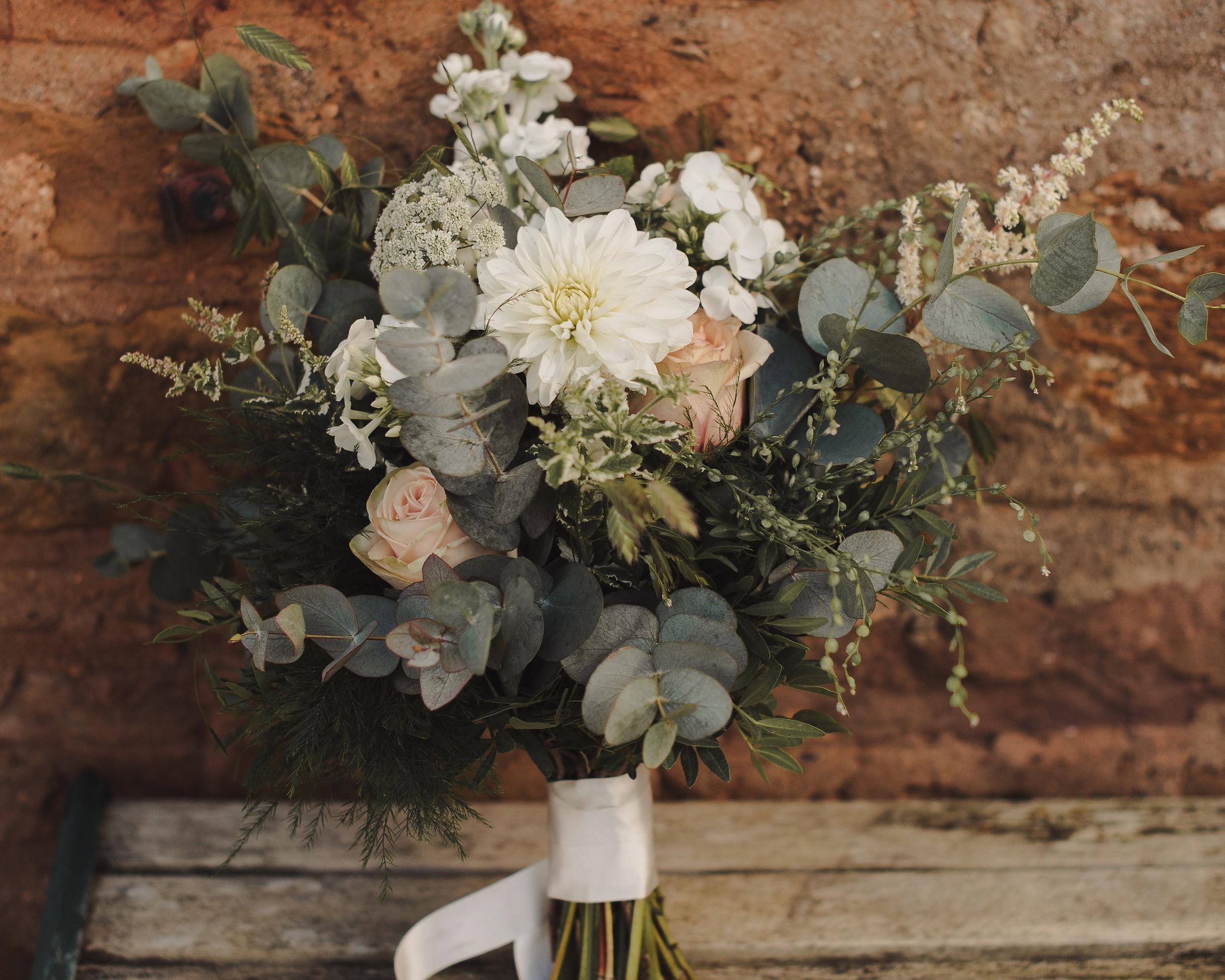 Rustic Wedding Flowers Natural Floristry In Fife Scotland Vintage Gathering