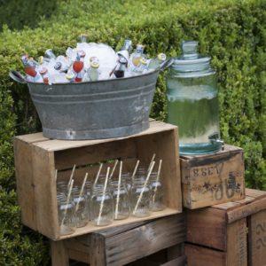 Ice bucket drinks props