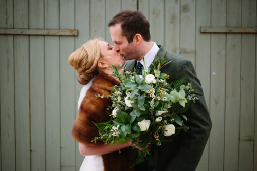 Winter Wedding Bouquet Rustic Flowers Fife