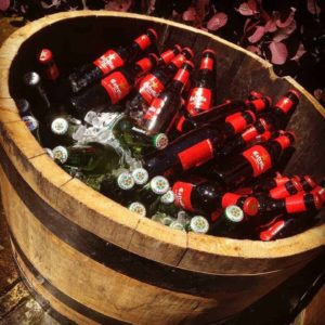 Barrel Ice Bucket for hire