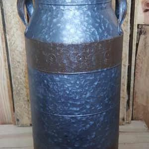 Tall Zinc Milk Churn
