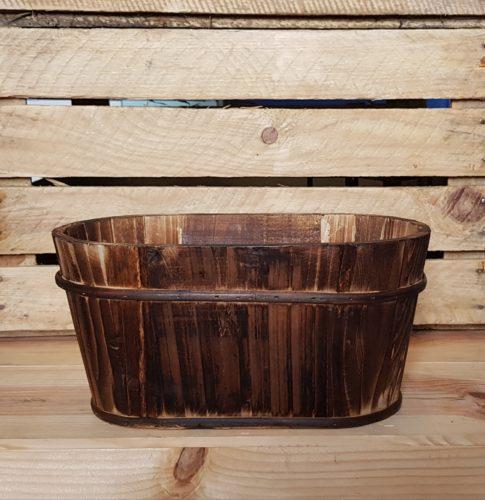 Wooden planter to hire wedding Scotland