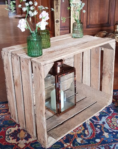 Crate for hire wedding