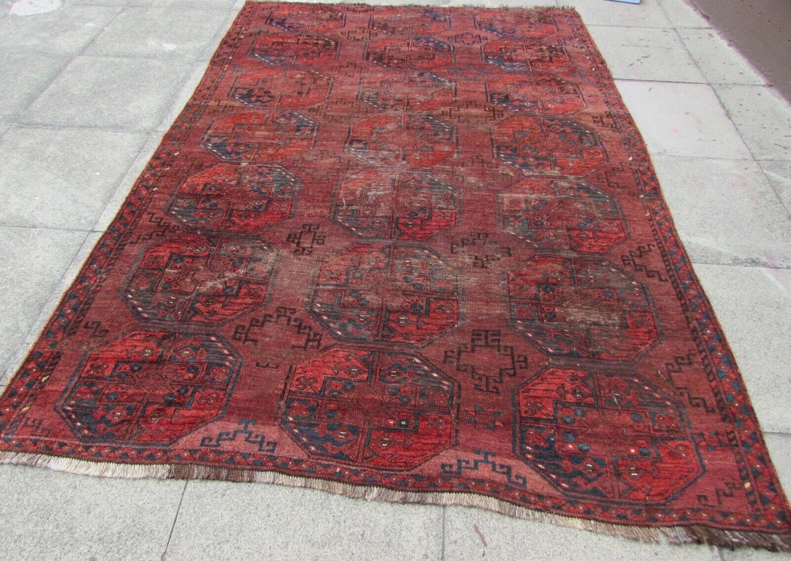 Vintage Persian Style Rugs And Blankets Vintage Gathering