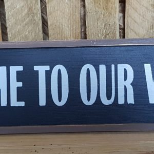 Welcome to our Wedding Long Sign Hire Wedding Scotland