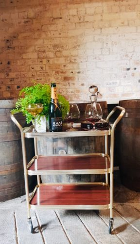 Hire Vintage Drinks Trolley Scotland